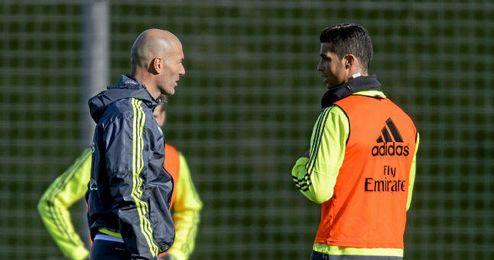 Zidane mantiene la duda de Cristiano Ronaldo.