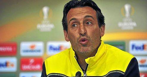 """Emery ha insistido en """"disfrutar el partido en toda su dimensi�n""""."""