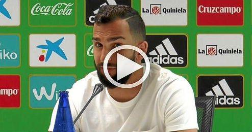 """""""Quiero que gane la liga el Barça, eso está claro""""."""