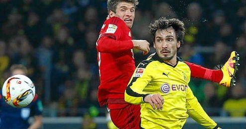 El central es canterano del Bayern y llegó al Dortmund en 2008.