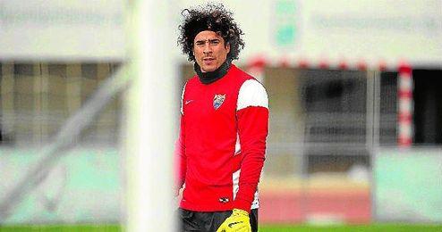 Guillermo Ochoa está disfrutando ahora de la titularidad en el Málaga.