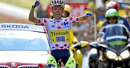 Alberto Contador, centrado en la preparación del Tour, no defenderá su título del año pasado.