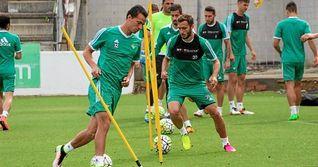 Bruno, Vargas y Digard, ausencias en el entrenamiento