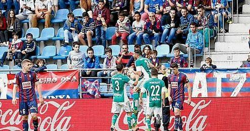 Rubén batió su récord goleador en Primera.