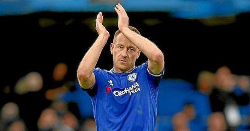 John Terry, capitán del equipo blue