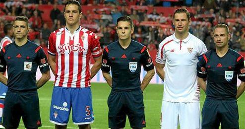 Del Cerro Grande, en el Sevilla-Sporting de esta temporada.