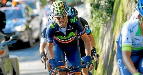 """La etapa de hoy ha sido de mucho desgaste"", asegur� Valverde."