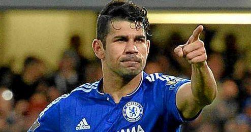 Diego Costa está lesionado.