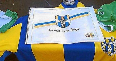 El nuevo escudo del club