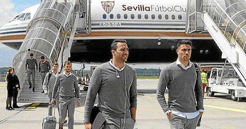 El Sevilla ya está en Suiza.
