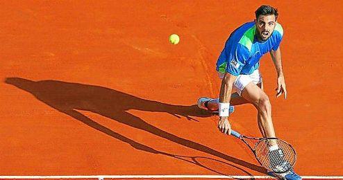 Granollers cae sobre tierra batida dejando el torneo franc�s sin participaci�n espa�ola.