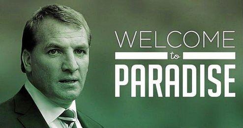 Así ha dado la bienvenida el Celtic a Rodgers.
