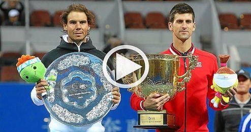 Nadal, Djokovic y Murray estarán en el Abierto de China