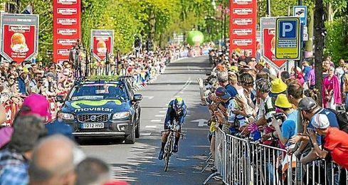 La lucha contra el cronómetro será la protagonista en la etapa 15 del Giro de Italia 2016.