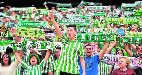 Un Benito Villamarín de Europa League