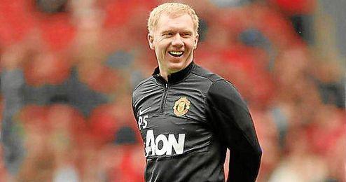 Scholes espera la mejor versi�n de Mourinho en Old Trafford.