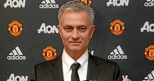 Mourinho, tras su anuncio como nuevo entrenador del United.