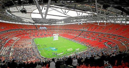 Imagen de Wembley, donde los de Pochettino jugarán la Champions.