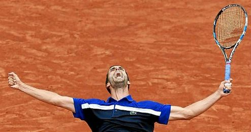 Ramos, n�mero 55 del ranking ATP, ni siquiera figuraba entre los cabezas de serie del torneo parisino.