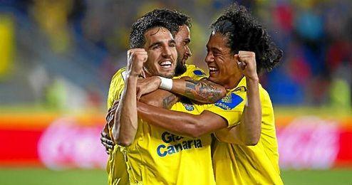 Bigas ha jugado 28 partidos esta temporada y marcado tres goles con la U.D. Las Palmas.