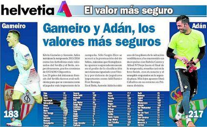 Antonio Adán ha sido uno de los pilares de la salvación verdiblanca y ha mantenido un duro pulso con Rubén Castro y Alfred N´Diaye.