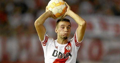 Mammana, una de las joyas de River, es pretendido por equipos como el Inter de Milán.