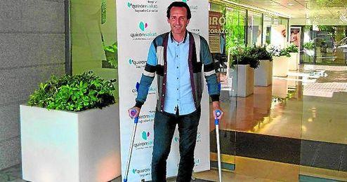 Emery se lesionó en un entrenamiento y fue operado ayer en Sevilla.
