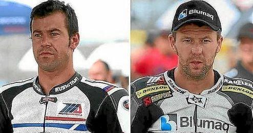 Dani Rivas y Bernat Mart�nez, fallecidos en 2015