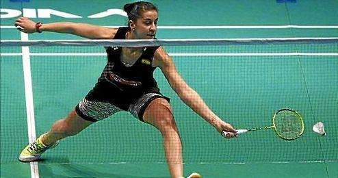 Carolina Marín cae en semifinales ante la china Wang.