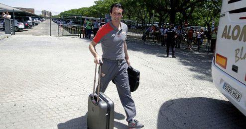 Unai Emery no parece dispuesto a hacer las maletas.