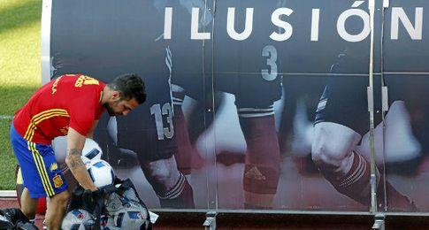 La ´Roja´ prepara la Eurocopa con ilusión.