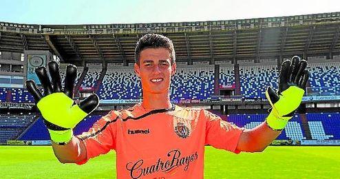 El portero ya ha estado en cedido en la Ponferradina y Valladolid.