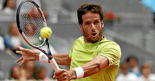 Feliciano López en Madrid