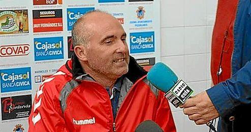 Garrido, entrenador del Lora