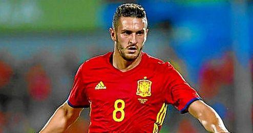 """""""Los que venimos de abajo tenemos ganas de hacerlo bien para llevar la Eurocopa a España"""", aseguró Koke."""