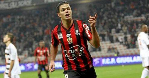 Ben Arfa (29) ha recuperado su mejor nivel esta temporada en el Niza de Puel.