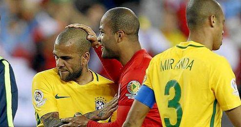 Brasil no era eliminada en primera ronda desde la Copa América celebrada en Argentina en 1987.