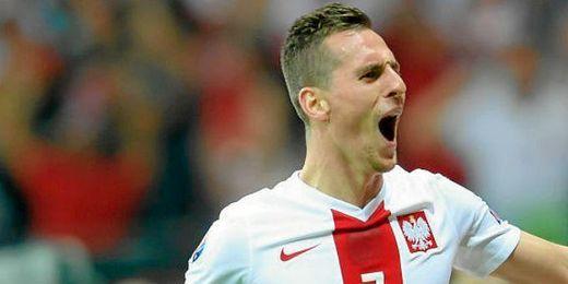 Milik marcó el gol de Polonia.