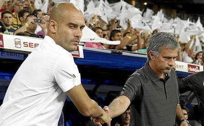 Guardiola y Mourinho pondrán el morbo al campeonato británico.