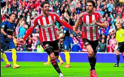 Jordi Gómez (31), jugador del Sunderland, está, según ´Onda Cero´, en la agenda del Betis.