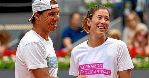 Nadal y Muguruza formarán pareja olímpica