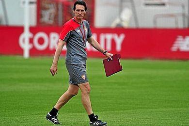 El vasco Unai Emery, como técnico del Sevilla Fútbol Club.