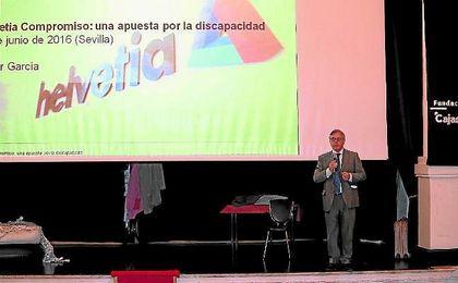 La presentaci�n de Helvetia Compromiso tuvo lugar ayer en la sede de la Fundaci�n Cajasol, a la que asistieron representantes de asociaciones de personas con discapacidad.