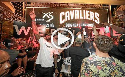 Así fue la celebración de los Cavaliers en Las Vegas