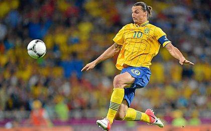 Zlatan Ibrahimovic debutó con la selección sueca el 31 de enero de 2001.