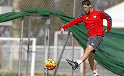 """Destac� como rasgo definitorio del Sevilla sus """"ganas de hacer cosas""""."""