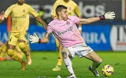 El barcelonés, de 28 años, ha cuajado una muy buena temporada en Girona.