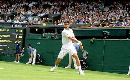 Novak Djokovic llega a Wimbledon como principal favorito.
