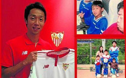 El gran apoyo de Kiyotake en el fútbol español será Inui, del Eibar, con el que guarda una estrecha relación.