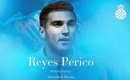 Así ha dado la bienvenida el Espanyol a Reyes.